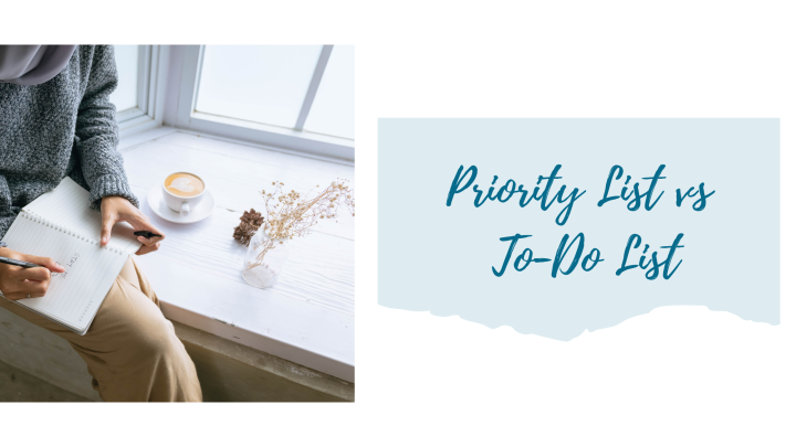 Priority List vs To-Do List