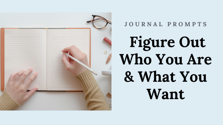 Figure Out Who You Are & What You Want
